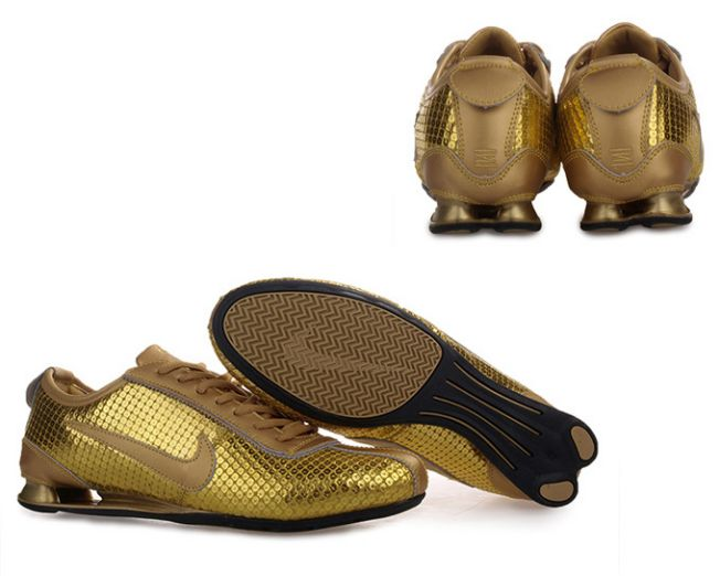 huge discount 40700 0a86d nike shox rivalry premium homme or
