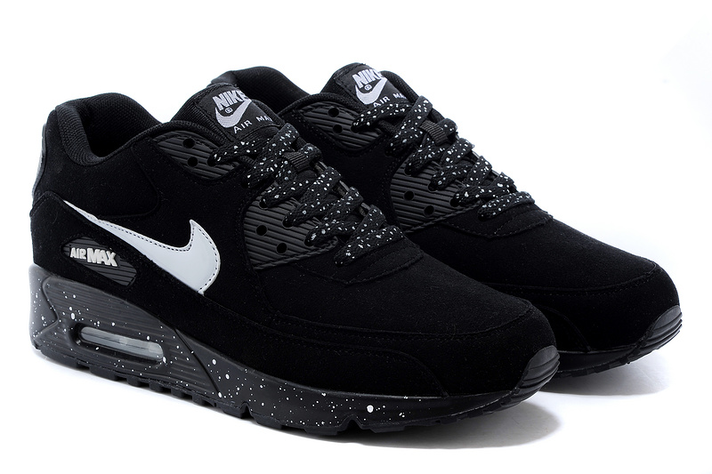 nike air max 90 womens black and white
