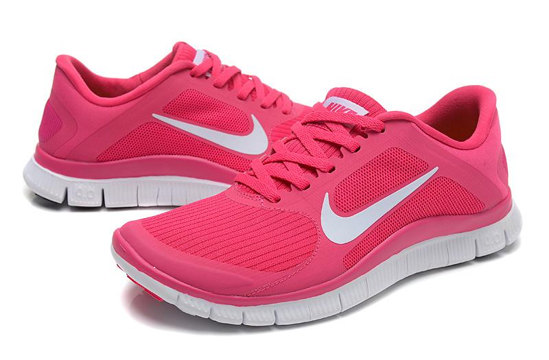 Basket Nike Free Run Rose Fluo