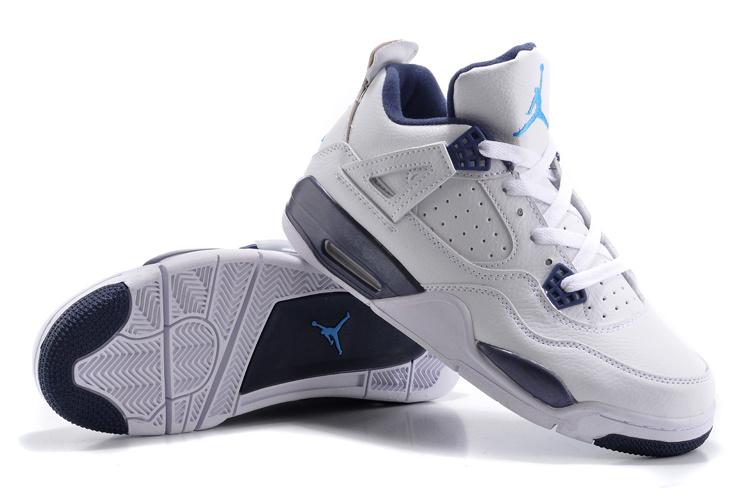 best website 14f10 0e187 chaussures nike nike air jordan retro 4 air jordan bleu