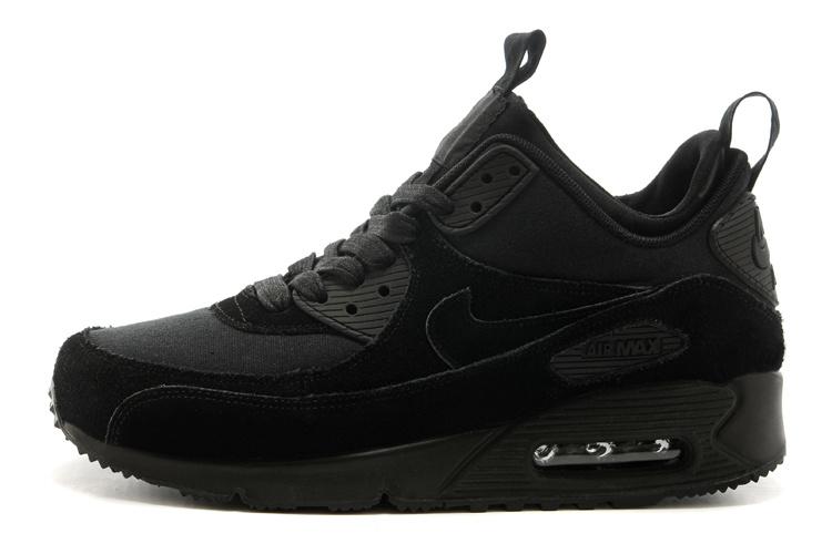 nike air max 90 homme chaussures de course duvet noir
