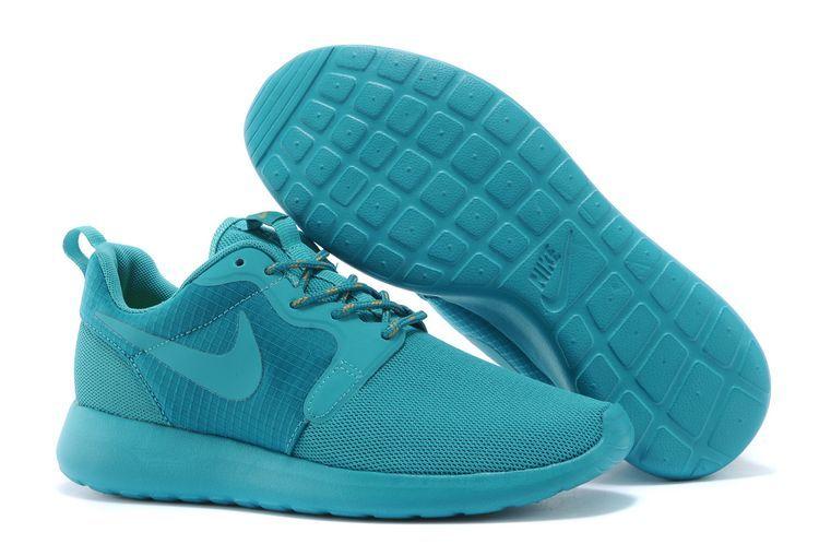 Nike Roshe Run Femme Rose Et Bleu